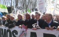 Alejandro Iñarra, presidente del Consejo Estatal de Estudiantes de Medicina (CEEM), se ha sumado a las protestas