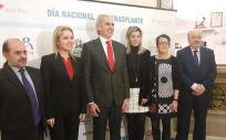 El consejero de Sanidad de la Comunidad de Madrid, Enrique Ruiz Escudero, ha inaugurado el encuentro organizado por asociaciones de trasplantados en la Real Academia Nacional de Medicina