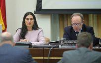 José Javier Castrodeza, secretario general de Sanidad, interviniendo en la Comisión de Sanidad.
