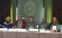 De izq. a dcha.: Carmen Flores, Rafael Basterrechea, Ignacio Martínez, Carlos Bardera y Marine Martin