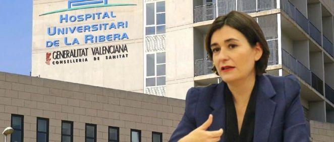 Carmen Montón, consejera de Sanidad de la Comunidad Valenciana