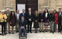 El acto se ha celebrado en el Parlamento de Andalucía para conmemorar el Día Mundial de las Enfermedades Raras