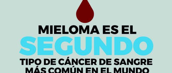El mieloma es un cáncer de sangre que afecta a unas 12.000 personas en España