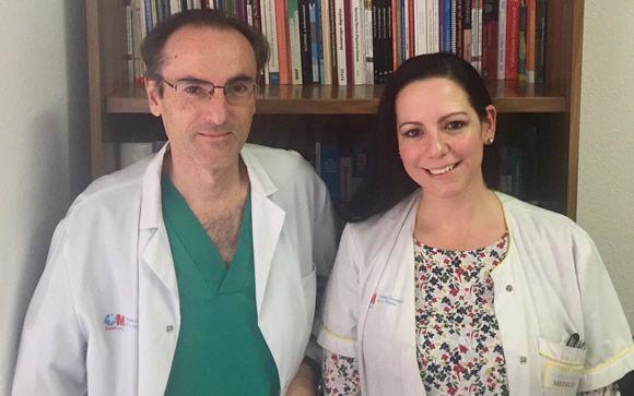 De izq. a drcha.: Javier P. Gisbert y María José Casanova, coordinadores del estudio