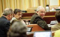 De izquierda a derecha: Fernando Navarro y Francisco Igea