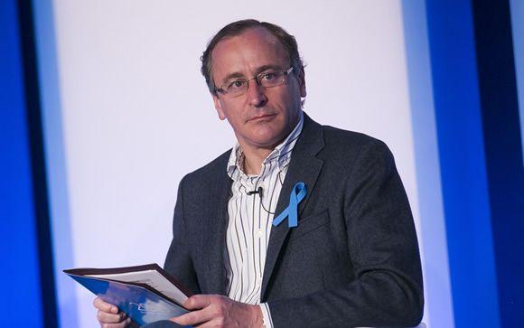 Alfonso Alonso, durante la convención sobre el Pacto por los Servicios Sociales, celebrada recientemente en Sevilla.
