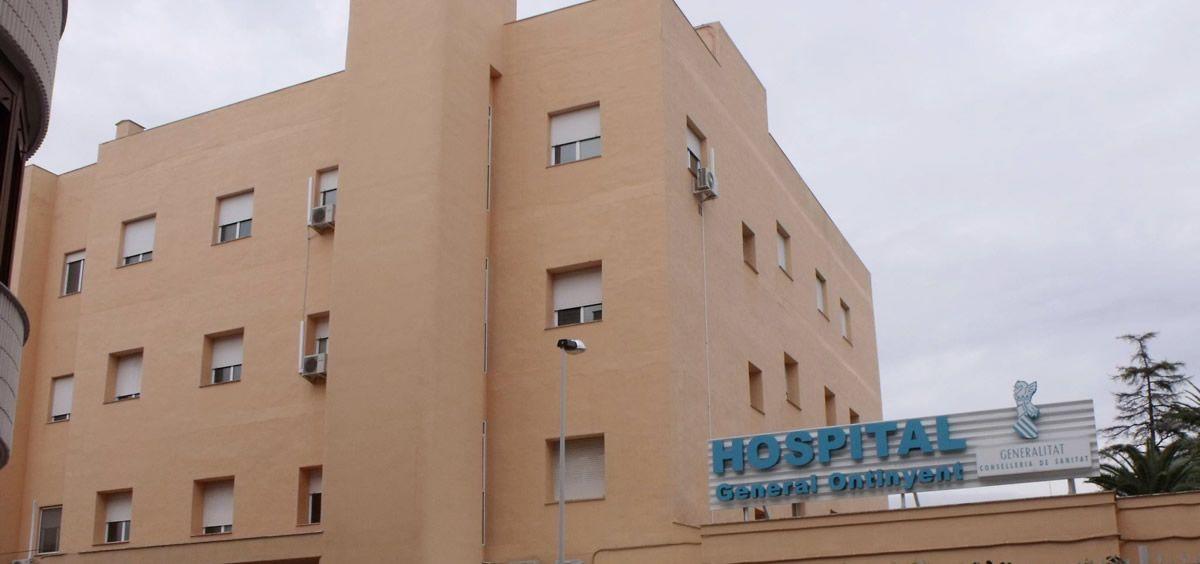 Fachada del Hospital General de Ontinyent