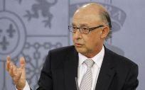 Cristóbal Montoro, ministro de Hacienda y Función Pública encargo de presentar los PGE de 2018.