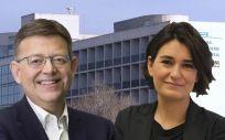 Ximo Puig y Carmen Montón, presidente y consejera de Sanidad de la Comunicad Valenciana, respectivamente.