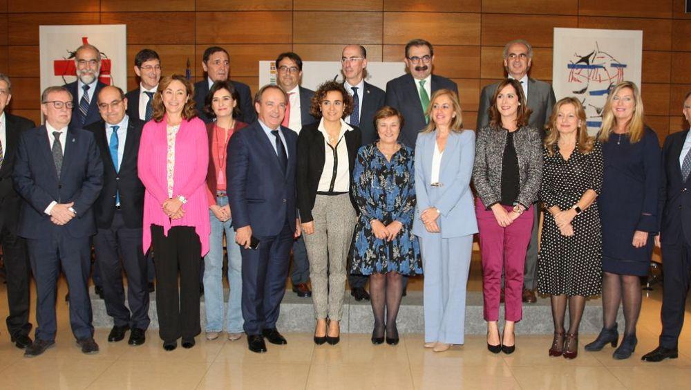 Imagen de los consejeros sanitarios de las distintas CC.AA. en la última reunión del Consejo Interterritorial.