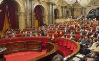 En el pleno del Parlament de Cataluña se iba a debatir la devolución de la paga extra a los funcionarios catalanes.
