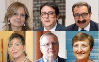 Imagen de los ocho consejeros socialistas que han anunciado que no acudirán al Foro Médico el próximo 11 de abril.
