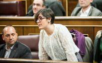 La diputada de Compromís, Marta Sorlí, durante una intervención en el Congreso.