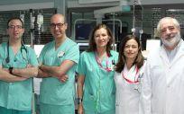 Profesionales de la Unidad de Arritmias del Servicio de Cardiología del Complejo Hospitalario de Albacete.
