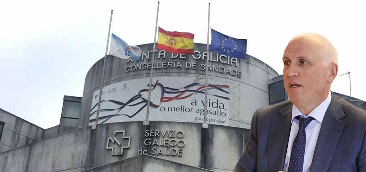 Antonio Fernández, gerente del Sergas