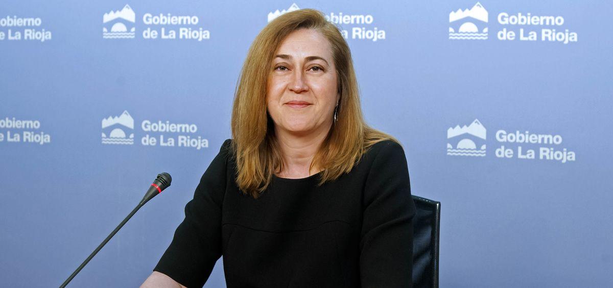 Begoña Martínez Arregui, portavoz del Gobierno de La Rioja