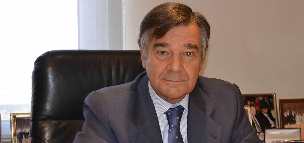 El presidente del Colegio Oficial de Farmacéuticos de Madrid, Luis González Díez