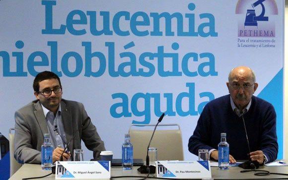 Miguel Ángel Sanz (izquierda) y Pau Montesinos (derechos), ambos del Hospital Universitario y Politécnico La Fe, de Valencia.