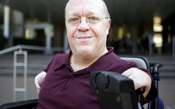 Andreas Meyer, afectado alemán que ha demandado a la Fundación Contergan de Grünenthal