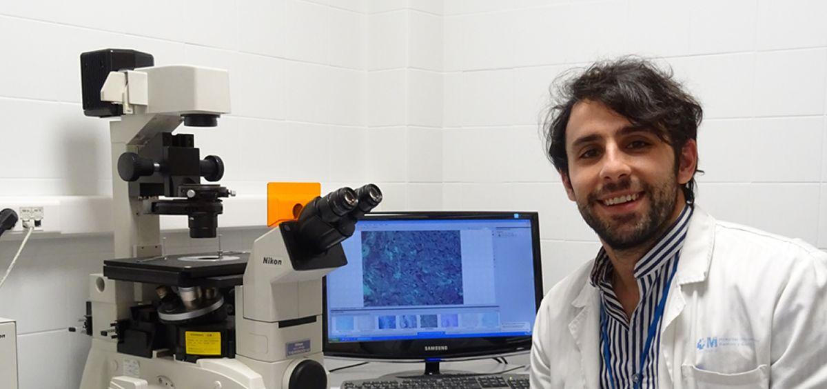 El doctor Javier Molina Cerrillo, del Servicio de Oncología Médica del Hospital Universitario Ramón y Cajal