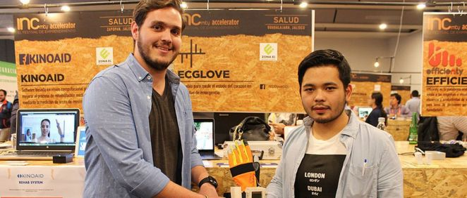 ECGlove, el guante desarrollado por la compañía de soluciones biomédicas Kenko