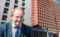 José Javier Castrodeza, secretario general de Sanidad, presidió la Comisión Delegada del pasado 18 de abril.