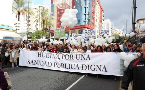 """El """"efecto Spiriman"""" no llega a Huelva: la plataforma onubense se manifiesta el 12 de marzo"""