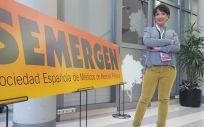 La doctora Montserrat Redondo, del Grupo de Trabajo Cardiovascular de Semergen, explicó los resultados del primer estudio piloto de la Plataforma @tendidos