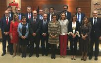 Imagen de los asistentes al primer pleno del Consejo Interterritorial del SNS del año 2018.