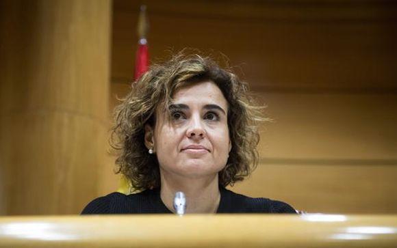 Dolors Montserrat, ministra de Sanidad, Servicios Sociales e Igualdad