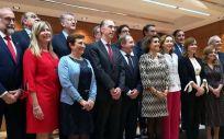Asistentes al último pleno del Consejo Interterritorial del SNS en el que se acordó la celebración de un monográfico de financiación.