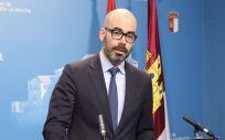 Iñigo Cortazar, director general de Recursos Humanos del Sescam