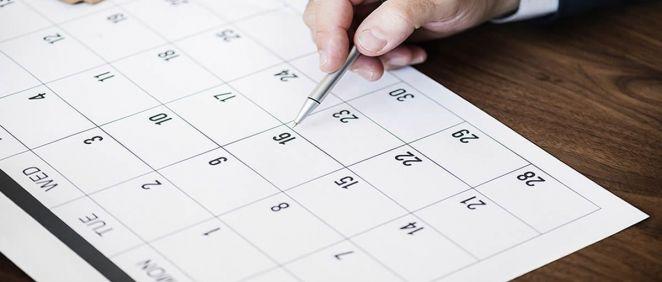 Calendario. (Foto. Freepik)