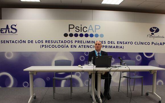 Antonio Cano, investigador principal del Ensayo Clínico PsicAP