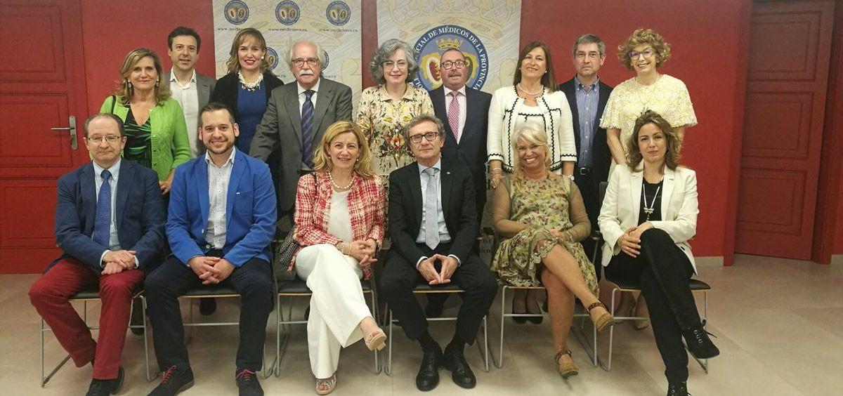 Junta Directiva del Ilustre Colegio Oficial de Médicos de Valladolid