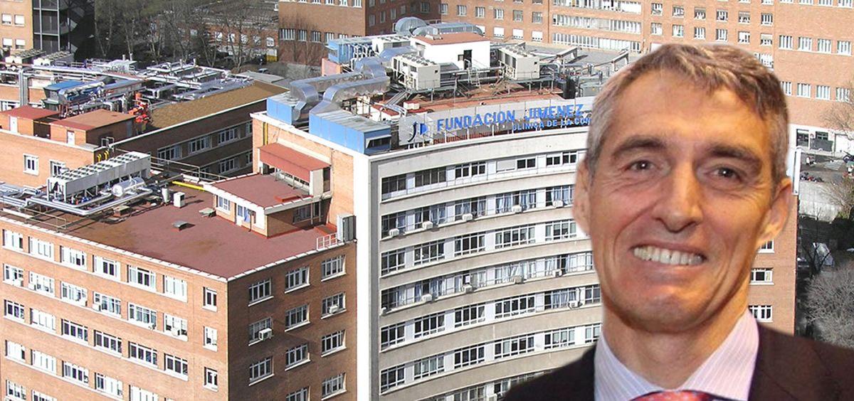 El Hospital Universitario Fundación Jiménez Díaz , liderado por Juan Antonio Álvaro de la Parra, ha incorporado ecografías a pie de cama