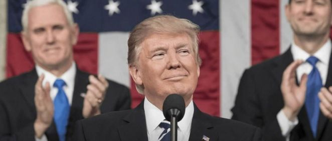 Donald Trump, presidente de Estados Unidos