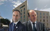 De izq. a dcha.: Ahmed Hababou, director general de Carburos Metálicos, y Javier Godoy, director de Carburos Médica.