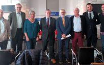 El consejero de Sanidad y el presidente de la Sociedad Asturiana de Cardiología han presentado las guías, que cuentan con el respaldo de otras siete sociedades científicas