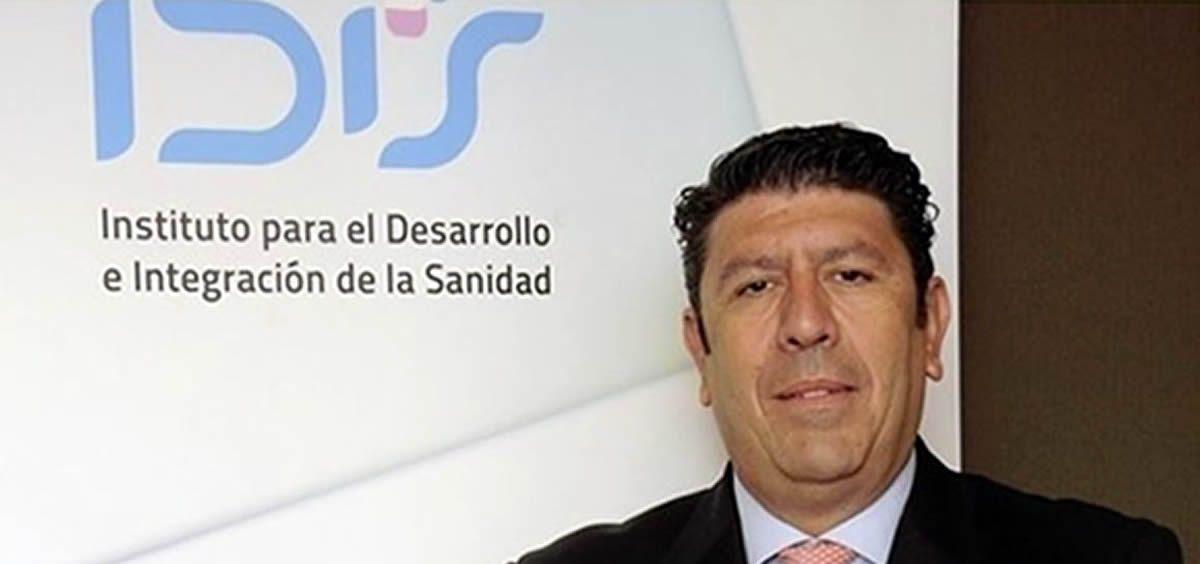 Manuel Vilches, director de la Fundación IDIS
