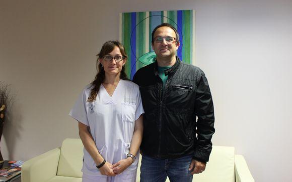 De izq. a drcha.: Paula Ramírez y Carlos Atienza