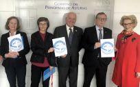Representantes del Consejo General de Enfermería y del Principado de Asturias se han reunido para abordar la campaña #CocheSinHumo