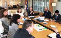 Reunión entre los representantes del Servicio de Salud de Castilla-La Mancha (Sescam) y los dirigentes sanitarios de Arabia Saudí