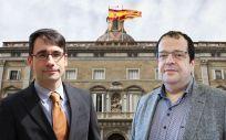 David Elvira y Joan Ignasi Elena, principales candidatos a ocupar la Consejería de Salud de Cataluña.