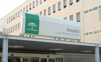 Fachada del Hospital Juan Ramón Jiménez de Huelva