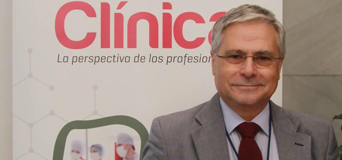 El doctor Fernando Carballo, presidente de Facme