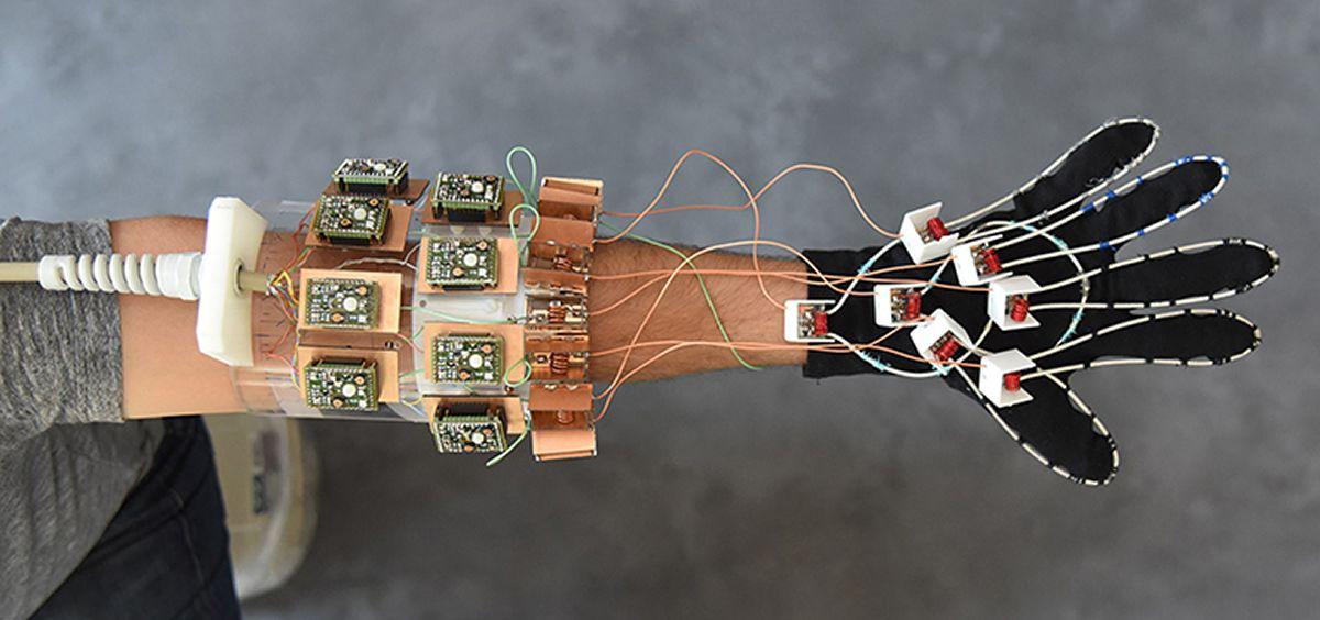 Un guante permite hacer resonancias magnéticas en movimiento