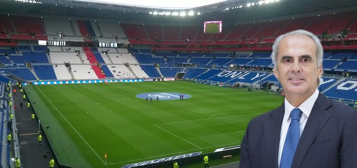 Ruiz Escudero asiste en representación del Gobierno regional a la final de la UEFA Europa League