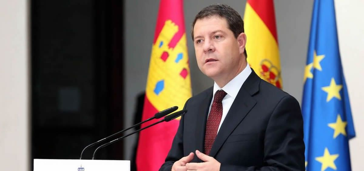 Emiliano García Page, presidente de Castilla La Mancha