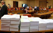 La mayoría que suman el PP y sus socios presupuestarios en la Comisión de Presupuestos ha rechazado las enmiendas para aumentar el Fondo de Cohesión.